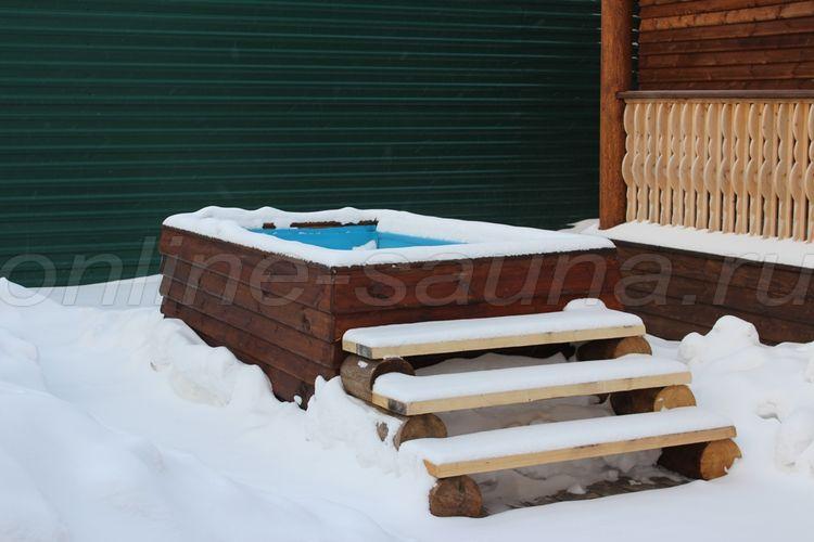 Русская усадьба, банный комплекс